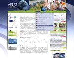 """<span class=""""userContent"""">APSAT - Application Satellitaire - Action Publique, technologies Satellitaires et développement durable. Toulouse (31)</span><span class=""""userContent""""><br />© Design : LePortillon.fr</span>"""