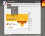 """<span class=""""userContent"""">Hoben - Fabriquant de poêles à granulés<br>© Design : Pamplemousse<br></span>"""